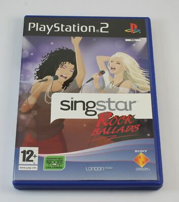SingStar Rock Ballads (without Mics) (PS2) • 7.20£