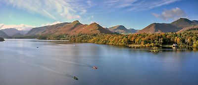 Lake District Photographic Print - Derwentwater, Catbells & Causey Pike • 22£