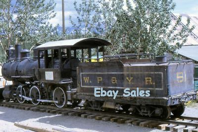 AU4.59 • Buy #V4 Amateur 35mm Slide-Photo-Alaska -Steam Engine-Whitehorse Alaska 1968