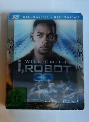 I, Robot - Blu Ray Steelbook - New And Sealed - Lenticular • 29.99£