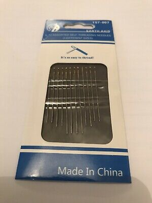 £1.75 • Buy Pack Of 12 Self Threading Needles. 3 Different Sizes. FREEP&P