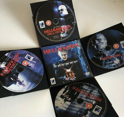 Coffret Collector DVD Cube Hellraiser - Import Limited Edition • 25.90£