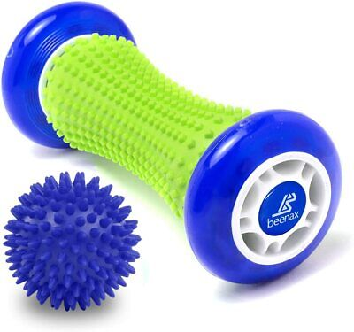 AU25.81 • Buy Foot Massage Roller & Hard Spiky Ball Set Relieve Stress And Relax Tight Muscles