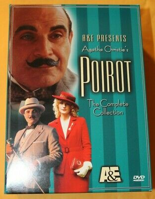 £10.85 • Buy Agatha Christie's Poirot - The Complete Collection 4-Disc DVD Box Set A&E