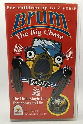 £79.99 • Buy Brum - The Big Chase VHS Video Tape Cassette Vintage Rare Wedding Windy Day TBLO