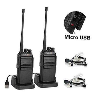 $ CDN48.31 • Buy  GA-2S Long Range Walkie Talkies For Adults UHF Two Way Radio Rechargeable