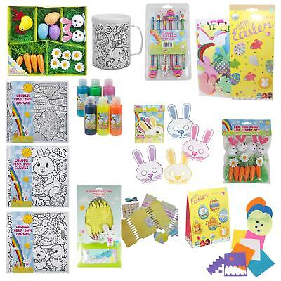 Easter Arts And Crafts, Egg Decorating, Craft Kits - Choose Items • 2.29£