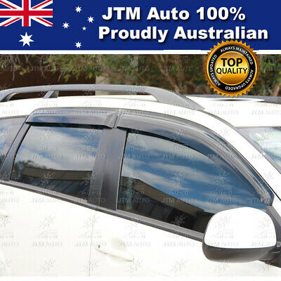 AU53.57 • Buy Premium Weathershields Shield Window Visors Suits Mitsubishi Outlander 2006-2012