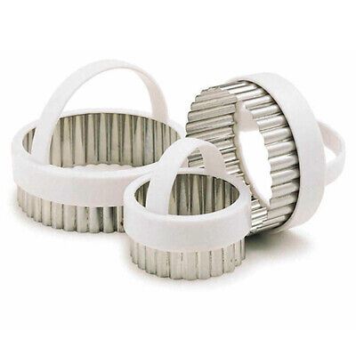 £7.90 • Buy KitchenCraft Fluted Pastry Cutters, Set Of Three