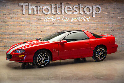 $36900 • Buy 2002 Chevrolet Camaro 35th Anniversary SS SLP 1LE Extremely Rare Collector Quality 2002 Chevrolet Camaro SS SLP 35th Anniv. 1LE