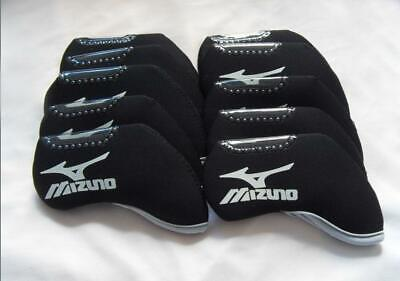 AU19.16 • Buy 10PCS Golf Club Head Covers Windows For Mizuno Iron Headcovers Black Universal
