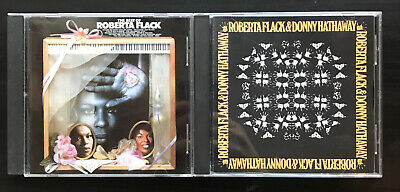 Roberta Flack - The Best Of/ And Donny Hathaway (2 CD Lot) • 12.09£