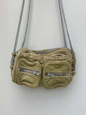 AU129.99 • Buy Alexander Wang Brenda Bag   Taupe SOFT Leather, Chain Strap, G8 Conditi $1,100RP