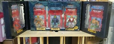 $305 • Buy Masters Of The Universe 5 Pack Commemorative Series I 2001 MOTU  Set 1/8000