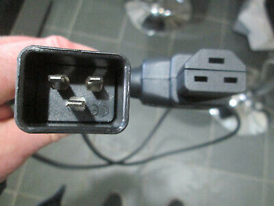 Extension Cable Kaiser, C20 To C21 POWER , Jumper Lead Male Female 2m • 4.99£