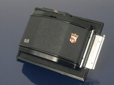 """£95 • Buy WISTA 6X9 Cm ROLL FILM BACK, FOR USE ON 5""""X4"""" CAMERAS"""