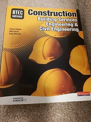 £7.99 • Buy BTEC National Construction, Building Services Engineering & Civil Engineering S…