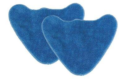 2 X Microfibre Mop Pads For VAX S85-CM Steam Cleaner • 5.95£