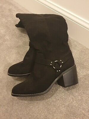 £20 • Buy BNWT Red Herring Black Knee Height Boots Size 7