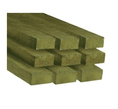 £70 • Buy 3x2 Timber Treated 1.8m (10 Lengths) | C16 | C24 Roof Joists | Decking