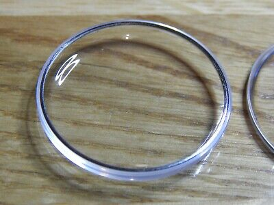£8.99 • Buy Watch Crystal Plexi Glass For OMEGA SEAMASTER Silver Tensioner Ring 23 - 37.3 Mm