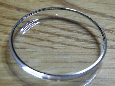 £8.99 • Buy Watch Crystal Plexi Glass For OMEGA SEAMASTER GOLD Tensioner Ring 23 - 37.3 Mm
