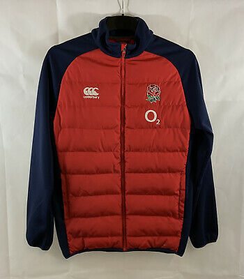 £39.99 • Buy England Padded Rugby Jacket 2015/16 Adults Small Canterbury E742