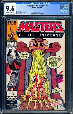 $49.95 • Buy Marvel Masters Of The Universe #3 Cgc 9.6 Ow/wp - Nm+ - He-man Motu 1986