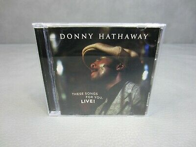 Donny Hathaway  These Songs For You Live  CD  • 9.28£