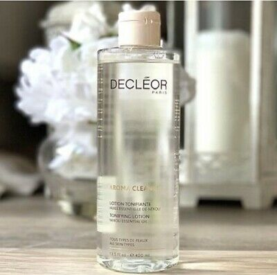 Decleor Aroma Cleanse Tonifying Lotion Neroli Essential Oil Super Size 400ml • 29.95£