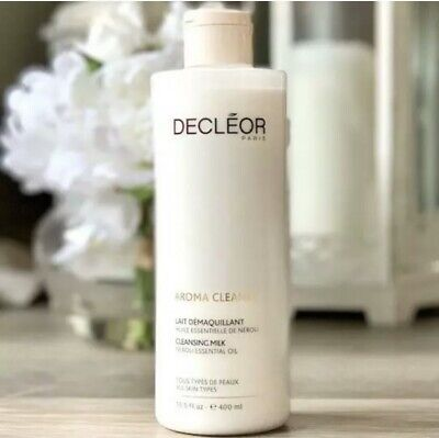 DECLEOR AROMA CLEANSE ESSENTIAL CLEANSING MILK 400ML # Super Size • 30.99£