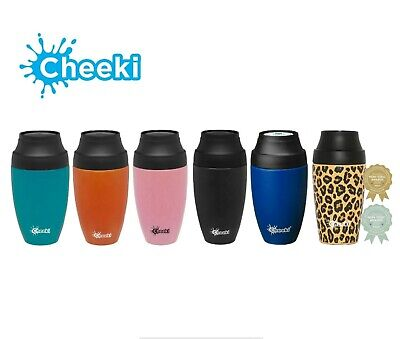 AU36.95 • Buy Cheeki 350ml Travel Coffee Mug - Leakproof And Insulated - 6 Colours Available