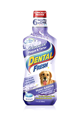 Pet Water Additive For Fresh Dog Breath Teeth Plaque Tarter Removal Dental Care  • 27.36£