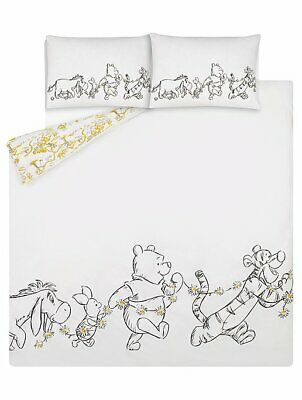 Winnie The Pooh 1000 Acre Wood Duvet Cover Bedding Set Single Double King Throw • 11.90£