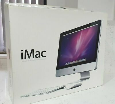  APPLE IMAC A1224 21.5 INCHES EMPTY WITH INSERTS BOX GOOD CONDITION TRANSIT BOX • 39.99£