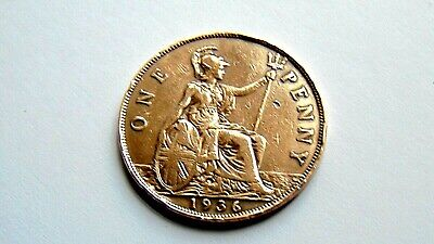£3 • Buy Rare 1936 One Penny