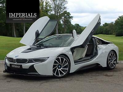2016 BMW I8 1.5 7.1kWh Auto 4WD (s/s) 2dr • 45,948£