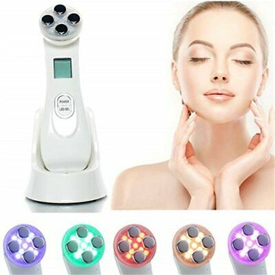 AU53.02 • Buy Anti Aging Radiofrequency Mesotherapy 5 In 1 LED Skin Tightening RF&EMS Face