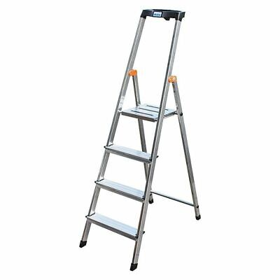 Stufen-Steh-Leiter Arb.höhe 2,85 Standing Height 0,85 Length 1,60, 4 Levels • 80.76£