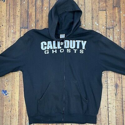 £27.62 • Buy Retro Call Of Duty Ghosts Game Promo Full Zip Hoodie Sweatshirt