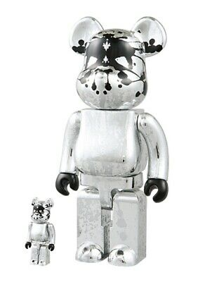 $564.20 • Buy Medicom 400% Pushead Bearbrick Deluxe Box Set 2005 BRAND NEW!!