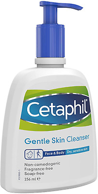 £10.90 • Buy Cetaphil Gentle Skin Cleanser Fragrance And Soap Free For Dry Skin 236ml Pump