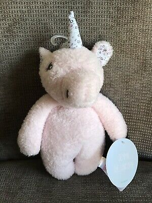 Primark Gemma The Unicorn Soft Toy Pink With Floral Horn NEW BNWT • 11.99£