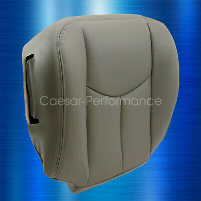 $37.55 • Buy 2003 2004 2005 2006 Chevy Tahoe Suburban Driver Bottom Leather Seat Cover Gray