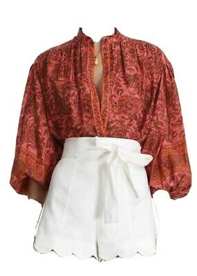 AU350 • Buy Zimmermann Edie Blouse - Size 0