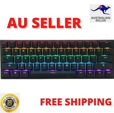 AU129.95 • Buy Anne PRO 2 Gateron Brown/Red/Blue Switch 61 Keys Mechanical Gaming Keyboard