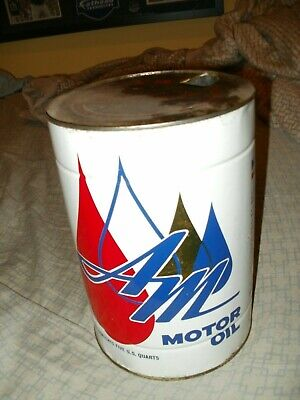 $ CDN151.93 • Buy Vintage 5 Quart A&m Oil Can Great Condition