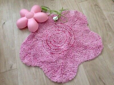 Bedroom Night/Wall Light With Matching Rug, Pink, Ikea • 11£