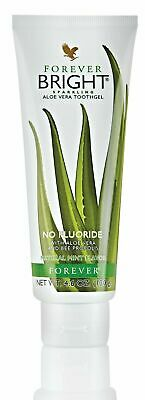 £16.99 • Buy FOREVER Living Aloe Vera BRIGHT TOOTHGEL With Bee Propolis 130 G Non-Fluoride