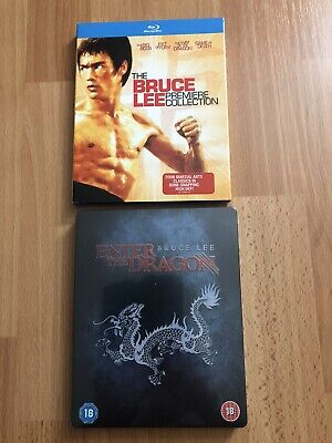 £87.16 • Buy Bruce Lee Premier Collection / Enter The Dragon Limited Edition Metal Box NEW